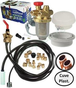 Kit De Raccordement Et Vannerie Pour Cuve Fioul Prosynergie
