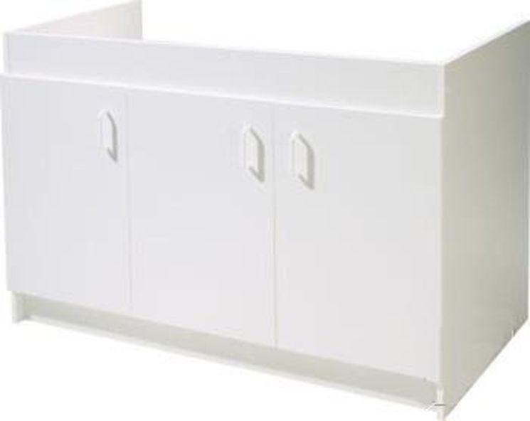 Meuble sous vier 120 x 60 haut 82cm sim nf monter marque n ova prosynergie - Monter un meuble sous evier ...