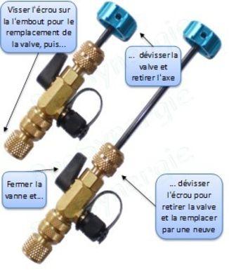 ANYKING Kit de Remplacement de Valve de Sclaverand 16 pi/èces Adaptateur Presta-Schrader,Pompe /à air,r/éparation,Outil de Pneu de v/élo,v/élo de Course Valve Presta,Insert de Valve,Bouchon de Valve
