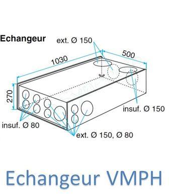 Piquage Extraction Cuisine O150 Mm Pour Vmph Aldes Reliant L