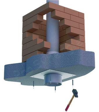 Plaque plafond B2 + Tuyau 15 cm - Tubage Flexible PPL pour Chaudières gaz  Condensation ou ce730cda2c06