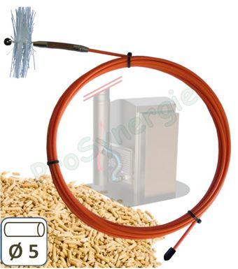 achat kit ramonage progalva pour conduits 3m 5m et 8m. Black Bedroom Furniture Sets. Home Design Ideas