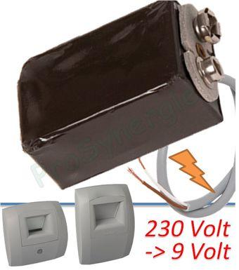 Transformateur 220v Pour Bouche Permet De Remplacer La Pile 9v