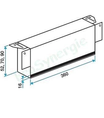 manchon prise d air vmc sur fen tre prosynergie. Black Bedroom Furniture Sets. Home Design Ideas