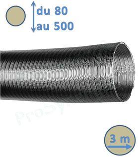 Gaine accordéon en aluminium longueur extensible pour ventilation    Prosynergie e92c62a325c3