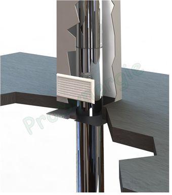plaque coupe feu galva pour conduit de fum e prosynergie. Black Bedroom Furniture Sets. Home Design Ideas