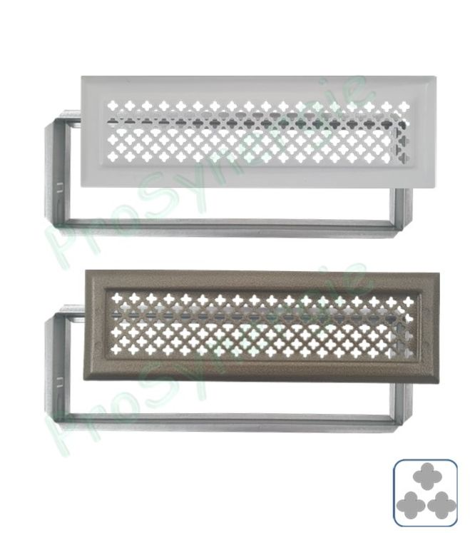 grille de d compression pour diffusion d air chaud avec. Black Bedroom Furniture Sets. Home Design Ideas