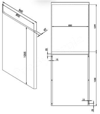 ecran thermique entre le po le et la cloison prosynergie. Black Bedroom Furniture Sets. Home Design Ideas
