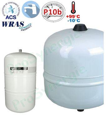 Vase d/'expansion Zilflex-Hydro Plus Inox 2 Ltr.